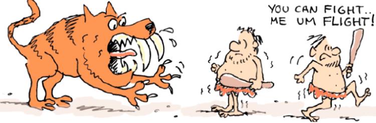 tiger and caveman 2